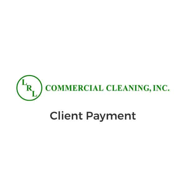 LRL Commercial Cleaning Payments